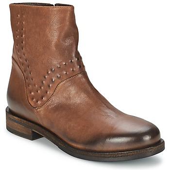 Schoenen Dames Laarzen Vic COPENHAGEN Bruin