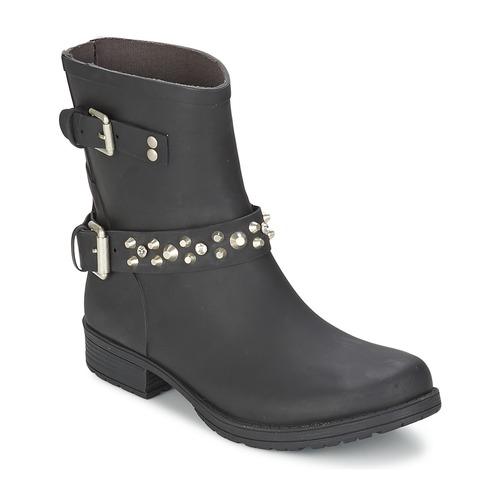 Schoenen Dames Laarzen Colors of California JAMBO Zwart