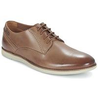 Schoenen Heren Derby Clarks FRANSON PLAIN Bruin