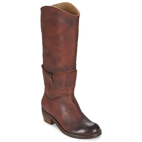 Schoenen Dames Hoge laarzen Dkode INDIANA Bruin / Donker