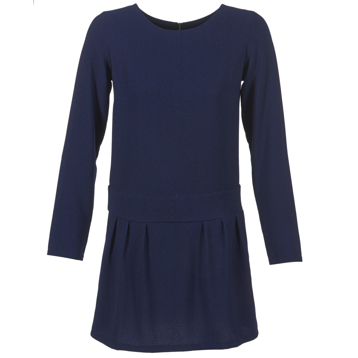 Betty London korte jurk fabiame blauw