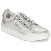 Schoenen Dames Lage sneakers Les P'tites Bombes BABOU Zilver