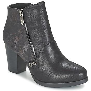 Schoenen Dames Enkellaarzen LPB Shoes BALTIMORE Zwart
