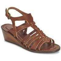 Schoenen Dames Sandalen / Open schoenen Kickers FASTA Bruin