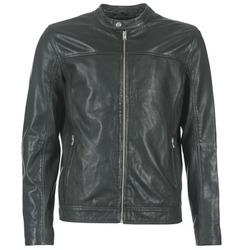 Textiel Heren Leren jas / kunstleren jas Selected BIRMINGHAM Zwart