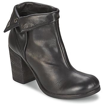 Schoenen Dames Enkellaarzen JFK GUANTO Zwart