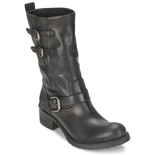 Schoenen Dames Laarzen JFK GUANTP Zwart