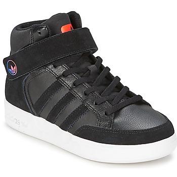 Schoenen Kinderen Hoge sneakers adidas Originals VARIAL MID J Zwart / Rood / Blauw