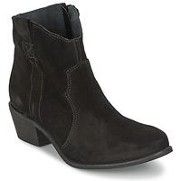 Schoenen Dames Enkellaarzen Shoe Biz BROPE Zwart