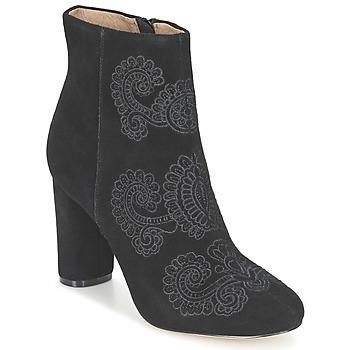 Schoenen Dames Enkellaarzen Bocage ELLIOT Zwart