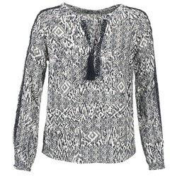 Textiel Dames Tops / Blousjes Vila VIETNO Grijs / Wit