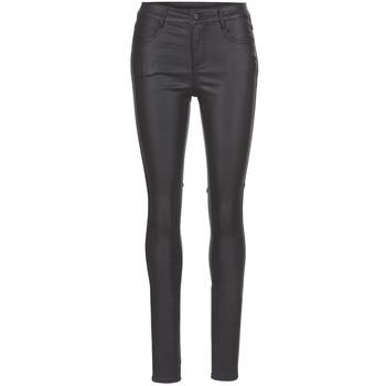 Textiel Dames 5 zakken broeken Vila VICOMMIT Zwart