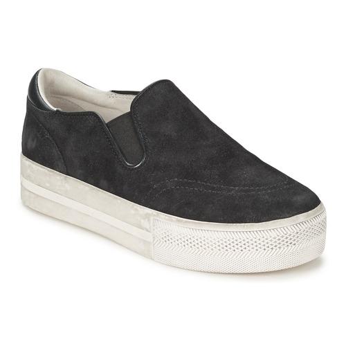 Schoenen Dames Instappers Ash JUNGLE Zwart