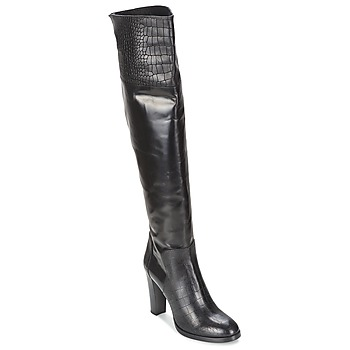 Schoenen Dames Hoge laarzen Alberto Gozzi GRINGO NERO Zwart