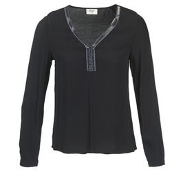 Textiel Dames Tops / Blousjes Betty London FALINDI Zwart