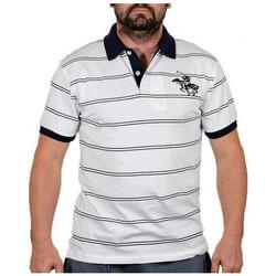 Textiel Heren T-shirts korte mouwen Santa Barbara  Wit