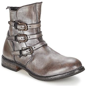 Schoenen Dames Laarzen Moma CUSNARGE Zilver
