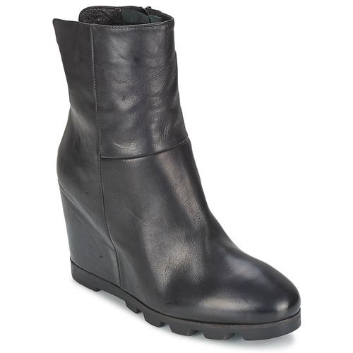 Schoenen Dames Enkellaarzen OXS IGLOO Zwart