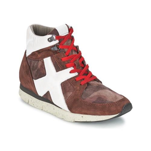 Schoenen Dames Hoge sneakers OXS JAZZ Bordeau