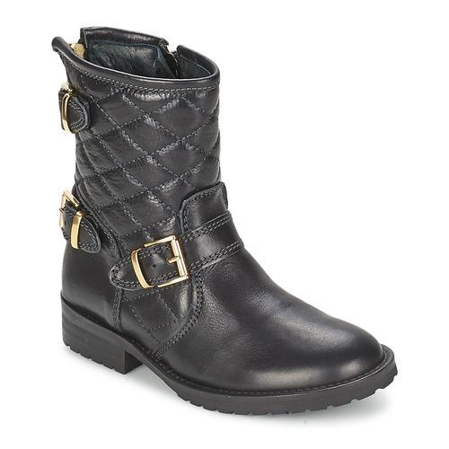 Schoenen Meisjes Laarzen Hip RAVUTE Zwart