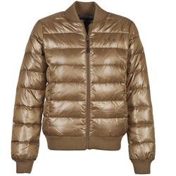 Textiel Dames Dons gevoerde jassen Franklin & Marshall JKWAL511 Bruin