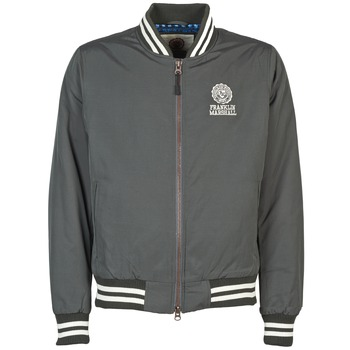 Textiel Heren Wind jackets Franklin & Marshall JKMVA023 Grijs