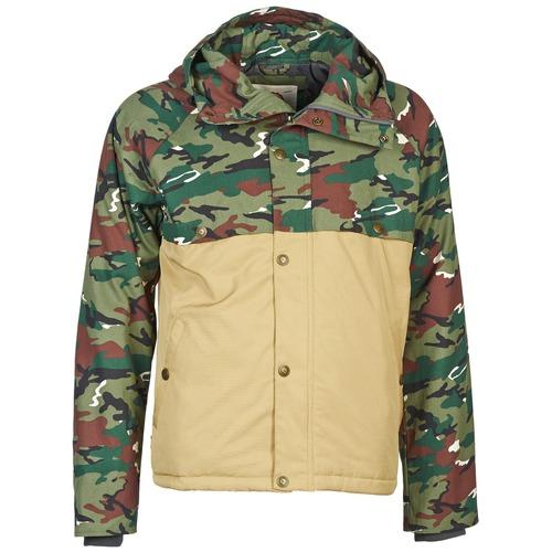 Textiel Heren Wind jackets Franklin & Marshall JKMVA034 Kaki / Beige