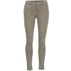 Textiel Dames Skinny jeans Vero Moda SEVEN Taupe