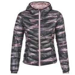 Textiel Dames Dons gevoerde jassen Only Play OLIVIA Zwart / Roze