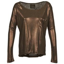 Textiel Dames T-shirts met lange mouwen Chipie NINON Goud