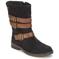 Schoenen Meisjes Hoge laarzen Gioseppo HALIFAX Zwart