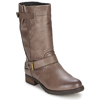 Schoenen Dames Hoge laarzen Gioseppo FREIRE Taupe
