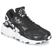 Schoenen Dames Lage sneakers Nike AIR HUARACHE RUN SE W Zwart / Wit