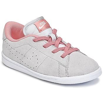 Schoenen Meisjes Lage sneakers Nike TENNIS CLASSIC PREMIUM TODDLER Grijs / Roze