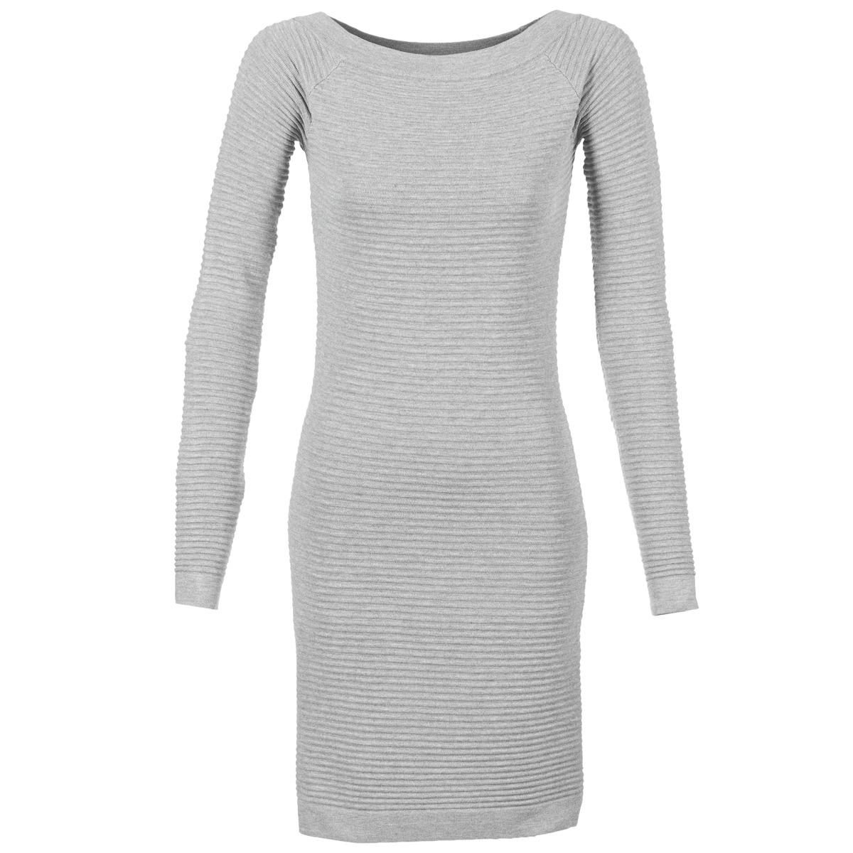 Betty London korte jurk fribelle grijs
