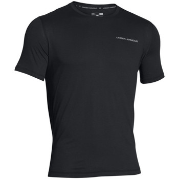 Textiel Heren T-shirts korte mouwen Under Armour Charged cotton microthread ss