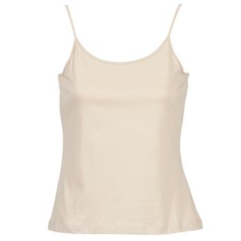 Textiel Dames Mouwloze tops BOTD FAGALOTTE Nude