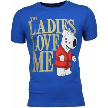 Textiel Heren T-shirts korte mouwen Mascherano T-shirt - The Ladies Love Me Print 19