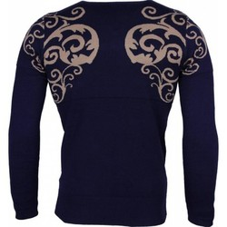 Textiel Heren Truien Lucky Life Casual Trui - Tattoo Motief Borduur Heren 19
