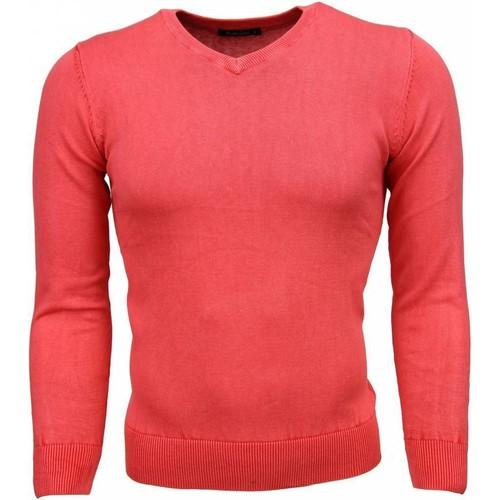 Textiel Heren Truien Tony Backer VHals Roze