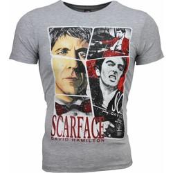 Textiel Heren T-shirts korte mouwen Mascherano T-shirt - Scarface Frame Print 35