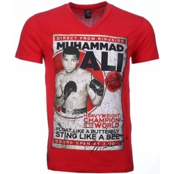 Textiel Heren T-shirts korte mouwen Mascherano T-shirt - Muhammad Ali Print 8