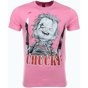 Textiel Heren T-shirts korte mouwen Mascherano T-shirt - Chucky 13