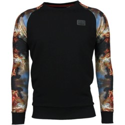 Textiel Heren Sweaters / Sweatshirts Local Fanatic Mythologie Arm Motief Zwart