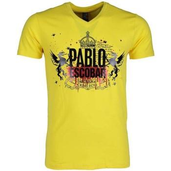Textiel Heren T-shirts korte mouwen Mascherano T-shirt - Pablo Escobar Crime Boss 4
