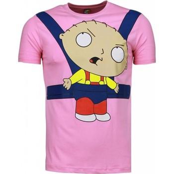 Textiel Heren T-shirts korte mouwen Mascherano Baby Stewie - T-shirt 13