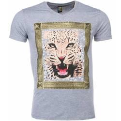 Textiel Heren T-shirts korte mouwen Mascherano T-shirt - Tijger Print 35