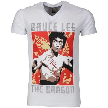 Textiel Heren T-shirts korte mouwen Mascherano T-shirt - Bruce Lee the Dragon 1