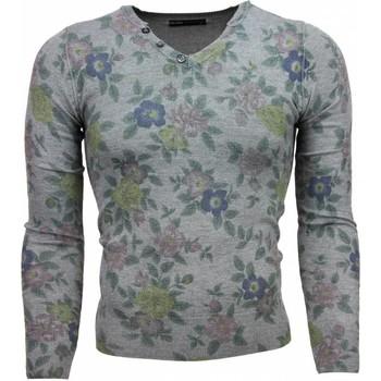 Textiel Heren Truien Belman Casual Trui - Bloemen Motief Print Heren 35
