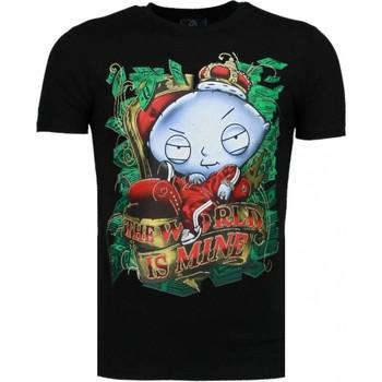 Textiel Heren T-shirts korte mouwen Mascherano Rich Stewie - T-shirt 38